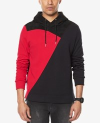 Sean John Men's Colorblocked Hoodie Black