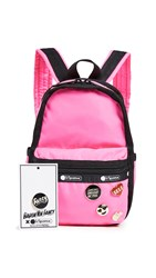 Le Sport Sac Lesportsac X Baron Von Fancy Mini Backpack Magenta