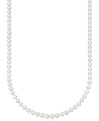 Belle De Mer Pearl Necklace 20' 14K Gold A Akoya Cultured Pearl Strand 7 7 1 2Mm
