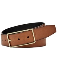 Fossil Reversible Leather Belt Brown Black