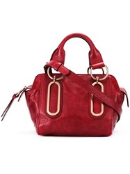 See By Chloe Zipped Shoulder Bag Red