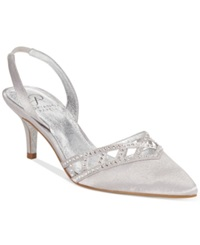 Adrianna Papell Haven Evening Pumps Women's Shoes Silver