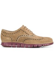 Cole Haan Zerogrand Oxford Shoes Brown