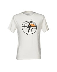 Lightning Bolt T Shirts Ivory