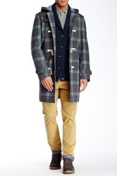 Jachs Hooded Toggle Coat Gray