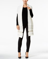 Inc International Concepts Crochet Shine Scarf Only At Macy's Ivory