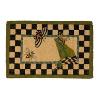 Mackenzie Childs Frog Entrance Mat