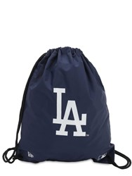 New Era La Dodgers Gym Sack Backpack Blue
