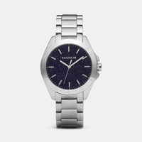 Coach Tristen Stone Dial Watch Blue Sandstone