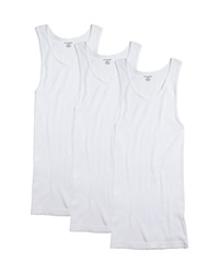 The Men's Store At Bloomingdale's Tank Pack Of 3 White
