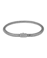Classic Chain 5Mm Extra Small Braided Silver Bracelet John Hardy