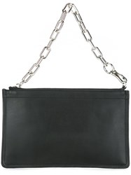 Alexander Wang Large 'Attica' Clutch Black