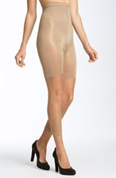 Plus Size Women's Spanx 'Power' High Waisted Capri Nude