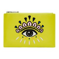 Kenzo Yellow Eye Clutch