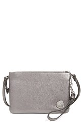 Vince Camuto 'Cami' Leather Crossbody Bag Grey Pewter Grey