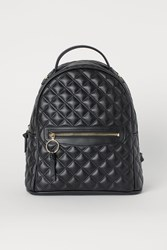 Handm H M Quilted Backpack Black
