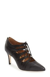 Corso Como Women's 'Cocktail' Lace Up Pump Black Leather