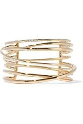 Elizabeth And James Gold Tone Cuff Gold