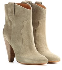 Isabel Marant Etoile Roxann Suede Boots Brown