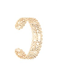 Karen Walker Filigree Cuff Bracelet Gold