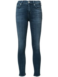 Citizens Of Humanity High Rise Super Skinny Jeans Blue