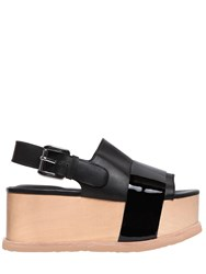 Jeffrey Campbell 70Mm Patent And Leather Platform Sandals