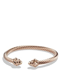 David Yurman Renaissance Bracelet In 18K Rose Gold 5Mm
