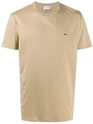 Lacoste Logo Embroidered T Shirt 60