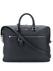 Saint Laurent Sac De Jour Briefcase Black