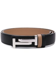 Tod's Double T Belt Black