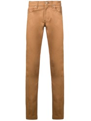 Naked And Famous Slim Fit Jeans Brown