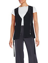 O'2nd Marion Silk Vest Black