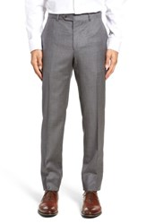 Strong Suit 'S Dagger Flat Front Solid Wool Trousers
