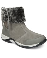 Easy Spirit Elementa Ankle Booties Women's Shoes Grey Multi