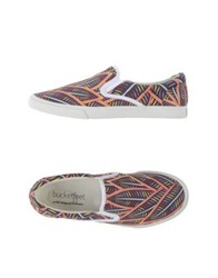 Bucketfeet Low Tops And Trainers Purple