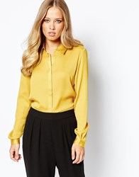 Y.A.S Aida Long Sleeve Shirt Yellow