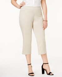 Jm Collection Plus Size Pull On Capri Pants Only At Macy's Stonewall