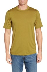 Ibex Men's 'All Day Weightless Wool Blend' T Shirt Komodo