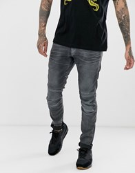 G Star Elwood Skinny Fit Jeans In Grey