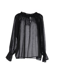 Femme By Michele Rossi Blouses Black