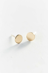 Urban Renewal Upper Metal Class Bronze Circle Earring