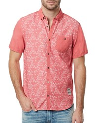 Buffalo David Bitton Floral Patterned Sportshirt Cruise