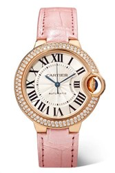 Cartier Ballon Bleu De 33Mm 18 Karat Pink Gold