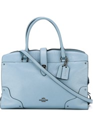 Coach Adjustable Strap Bag Blue
