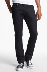 Men's Naked And Famous Denim 'Skinny Guy' Skinny Fit Jeans Black Power Stretch