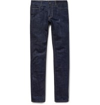 Berluti Slim Fit Denim Jeans Dark Denim