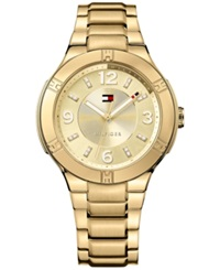 Tommy Hilfiger Women's Gold Ion Plated Stainless Steel Bracelet Watch 40Mm 1781450