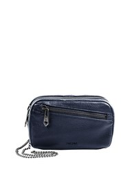 Linea Pelle Wyatt Crossbody Bag Navy