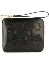 Simone Rocha Applique Cloud Clutch Black