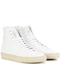 Givenchy Urban Knots High Top Leather Sneakers White